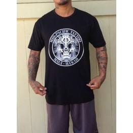 Mens Black Skull Shirt